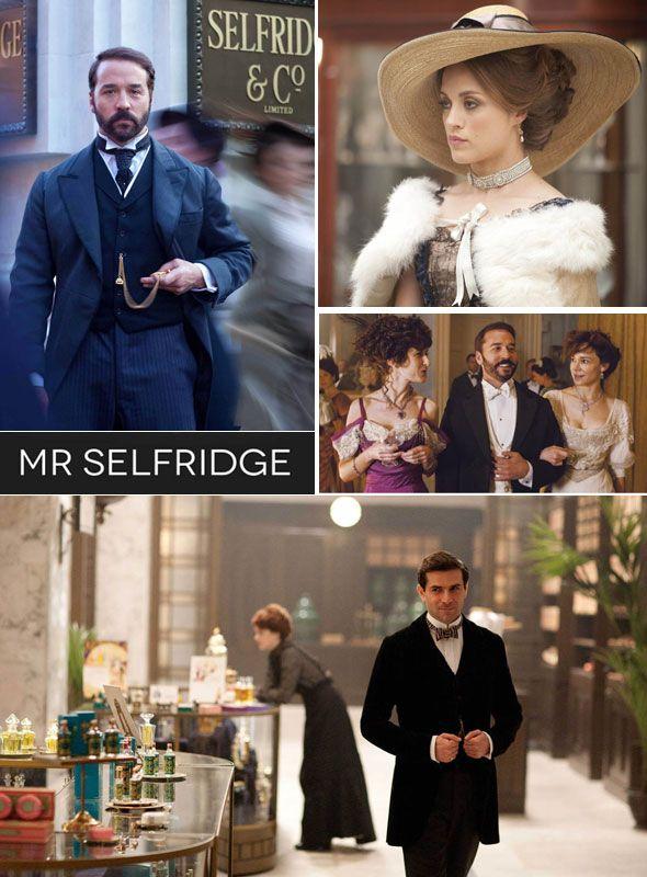 DPTV new addiction - Fashion & drama in the TV show Mr Selfridge - London style Sunday evenings!