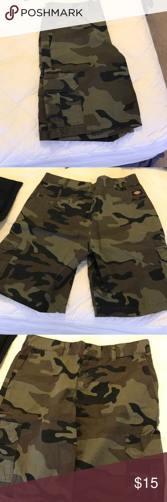 Dickies camo shorts Just solid shorts never wore Dickies Shorts