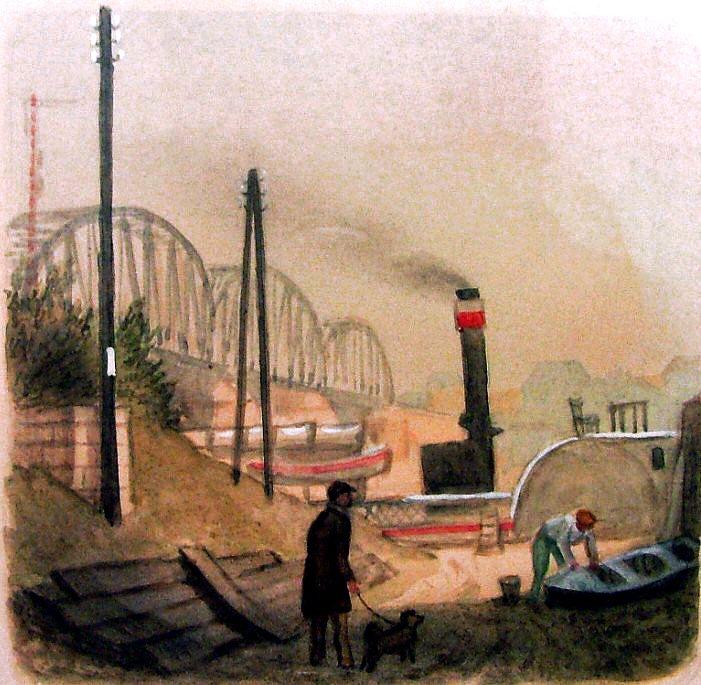 Karel Müller - U železničního mostu