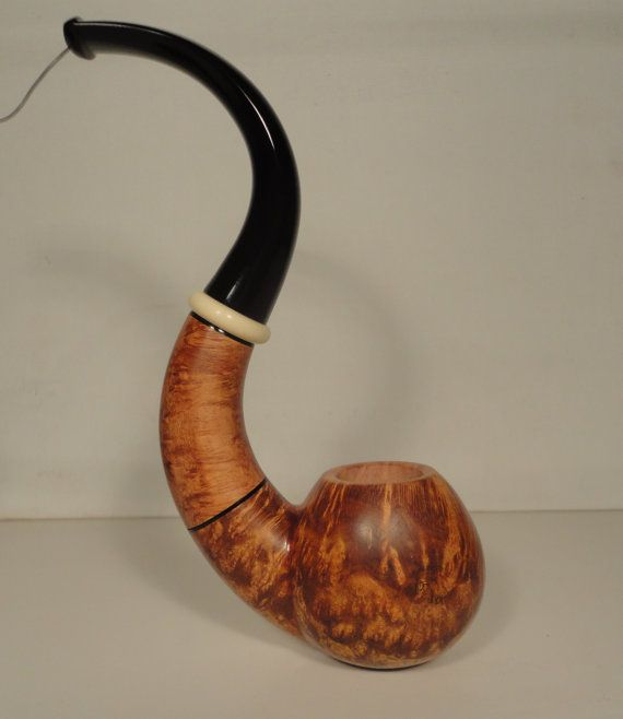 Truly Handmade SERPENTADE Briar Tobacco Pipe by LAYTONpipes, $250.00
