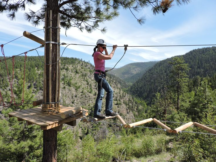 Myra Canyon Adventure Park in Kelowna, BC