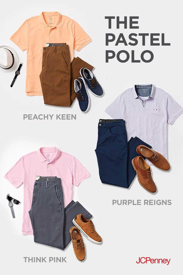 5a1a9a51 Real men wear pastels! Updating your wardrobe for spring is as easy as  choosing a