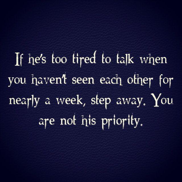 Priorities ~   Quotes   Pinterest Priority Quotes