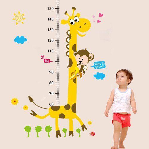 Amazon.co.jp: ウォールステッカー 剥がしてそのまま貼 壁に貼るウォールステッカー身長計 子供の成長が見えるウォールステッカー 測定範囲:60~ 180cm 並行輸入品: ホーム&キッチン