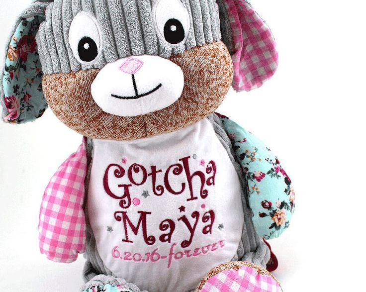 Adoption Gift Gotcha Day Present Keepsake by PersonalStitchGifts