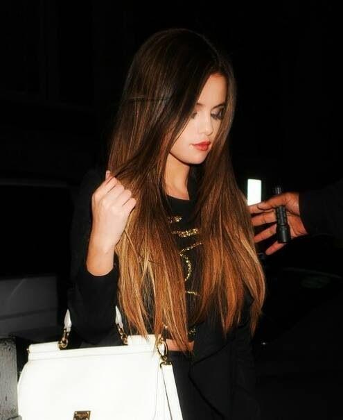selena gomez, beautiful hair, ombre   Hair   Pinterest