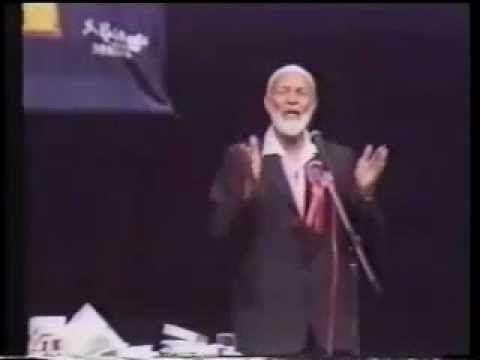 Ahmed Deedat exposes the lie Rev. Anis Chroh,
