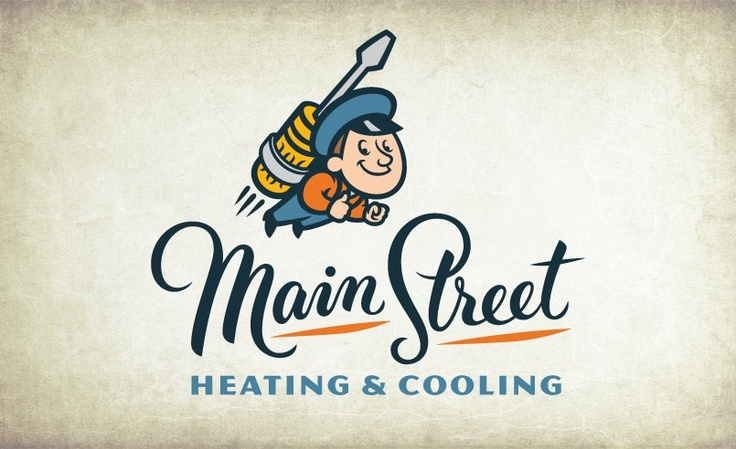 Vintage logo design for a heating and air conditioning company in Utah.: Design Inspiration, Vintage Logo Design, Logo Designs, Retro Logos, Logos Design, Design Fun, Vintage Logos