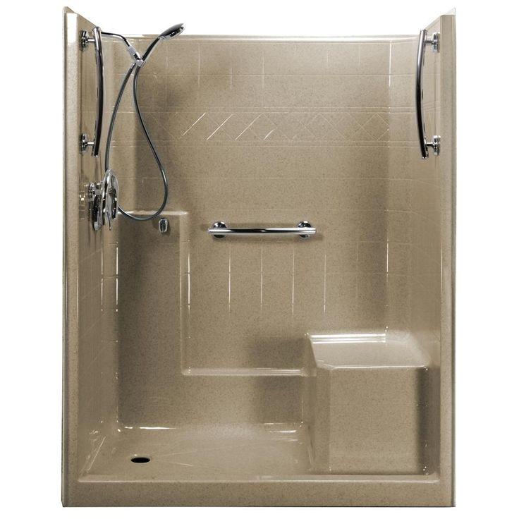 Best 25+ Shower stall kits ideas on Pinterest | Small tiled shower ...