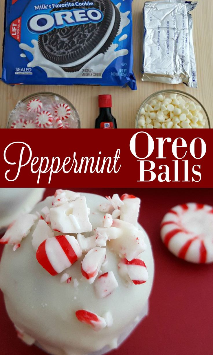 Oh my gosh! She added peppermint to Oreo Balls and I think I could eat them all - SO good and perfect for Christmas! I am definitely adding this Oreo Ball recipe to our cookie exchange list!