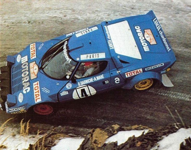 Bernard Darniche - Alain Mahe 47th Rallye Automobile de Montecarlo 1979 (Lancia Stratos)