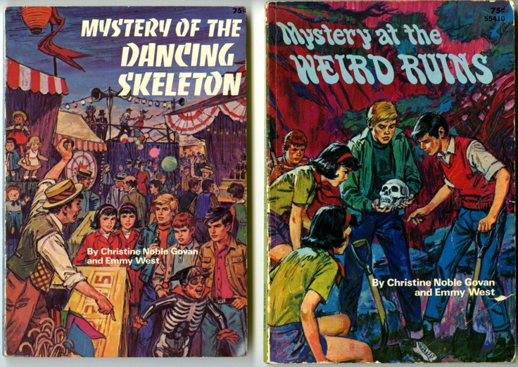 All the volumes of the locally-set young adult mystery series penned in the 1950s and early 1960s by Christine Noble Govan and Emmy West still circulate via the Chattanooga-Hamilton County Bicentennial Library •They are populated with smart and empathetic characters, and have held up surprisingly well