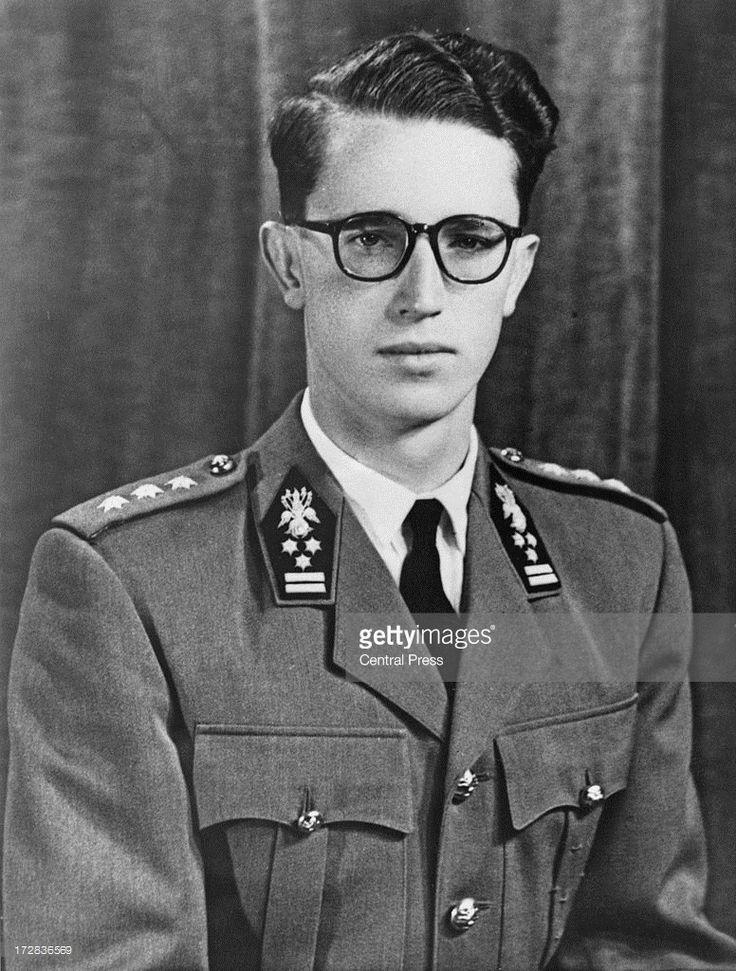 A portrait of King Baudouin of Belgium (1930 - 1993) taken for his 20th birthday, September 1950.