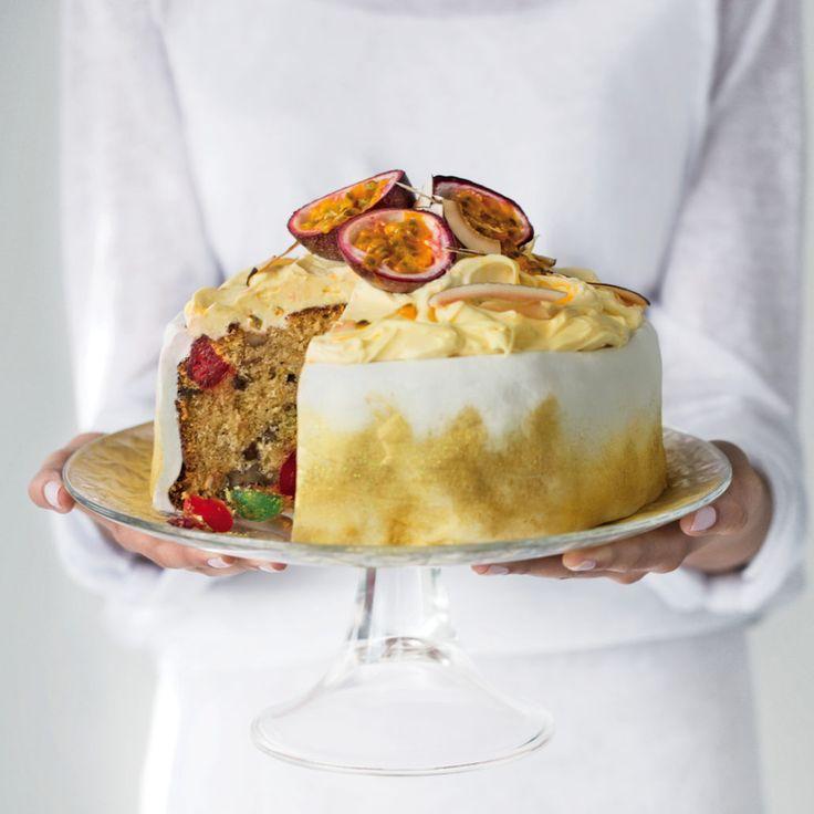 Last minute granadilla fruit cake - MyKitchen