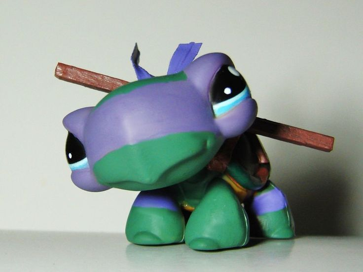tmnt teenage mutant ninja turtle ooak custom figure