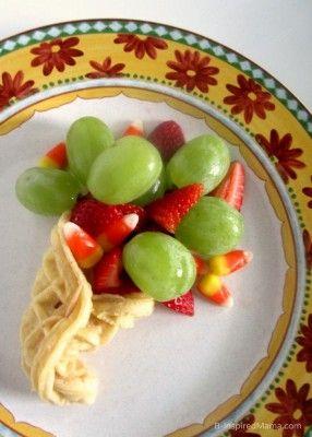 Cornucopia Kids Thanksgiving Snack