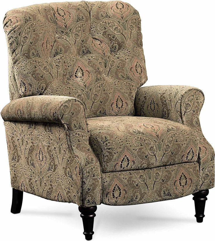 Belle High Leg Push Back Recliner Chair