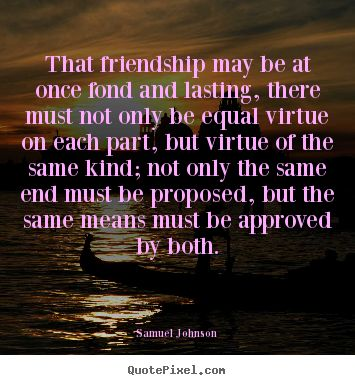 famous quotes about friendships