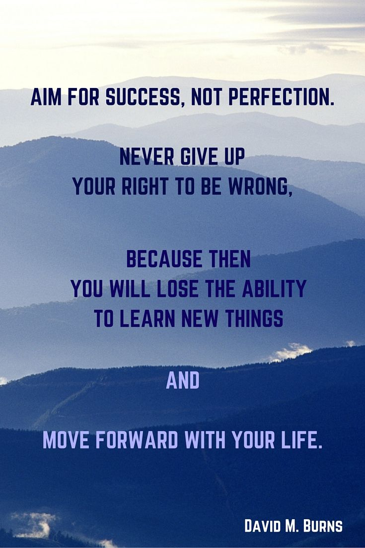 best images about quotes and motivation to be aim for success not perfection never give up your right to be wrong middot writing placelife davidessay
