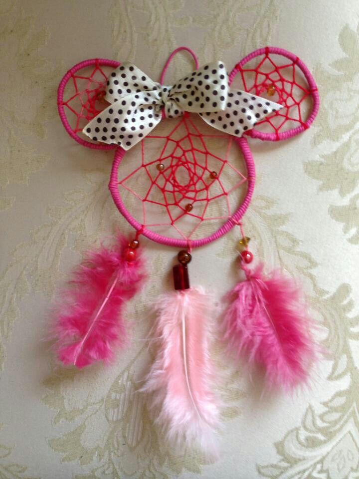 Minnie Mouse Dream Catcher!!! You can get one just like this at  http://www.etsy.com/shop/BmoreYOUnique . We do custom orders too in any colors you like!