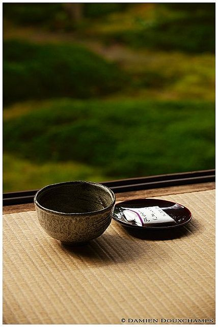Green macha tea, Hosen-in temple (宝泉院) | Flickr - Photo Sharing!