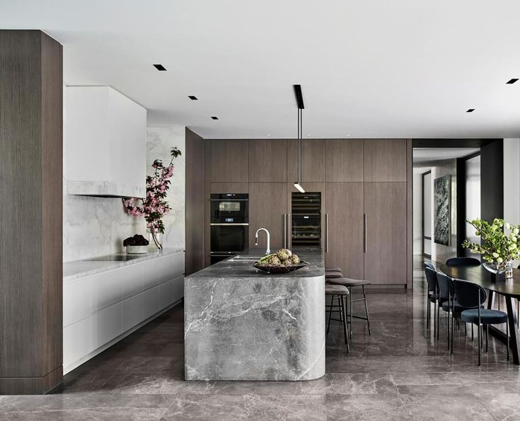 A timeless timber and stone kitchen in 2020 | Interior design awards, Australian interior design ...