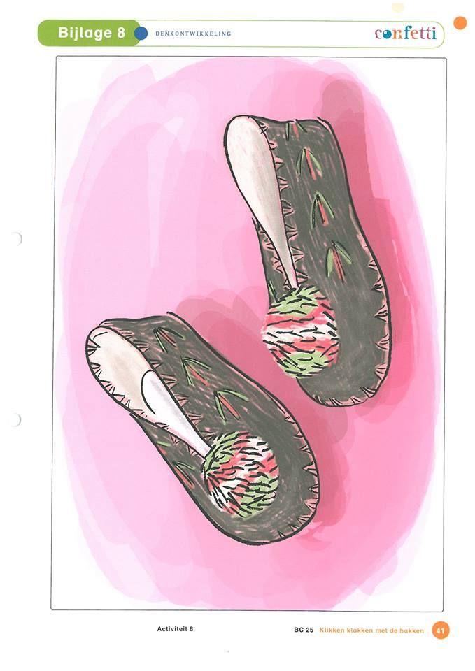 Soorten schoenen: ballerina's.