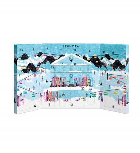 Calendrier de l'Avent 2015 : des produits de beauté par Sephora, 39,95€