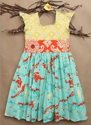 patterns for dresses/little girls   Cute dress pattern   Sewing for little girls