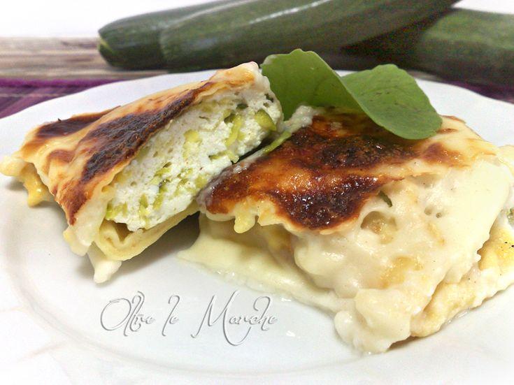 Crepes zucchine e ricotta, al forno | Oltre le MarcheOltre le Marche