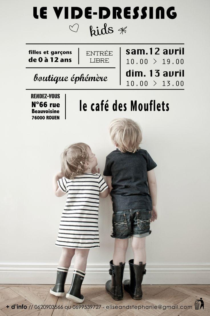 flyer vide-dressing kids by Marcel e{s}t Manuel