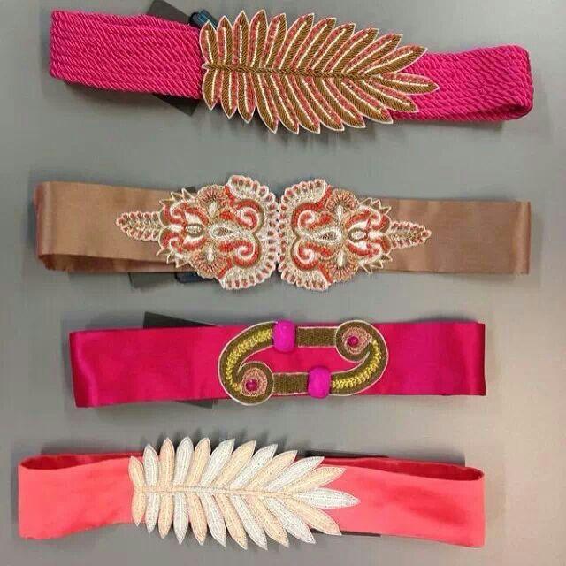 Cinturones joya
