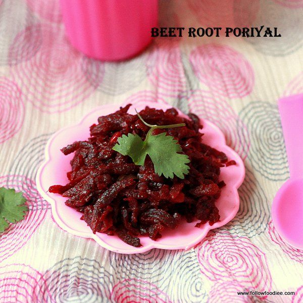 Beet root Stir Fry Recipe - A healthy and a colorful vegan stir fry recipe  #Beetroot #Vegan #followfoodiee #Recipe