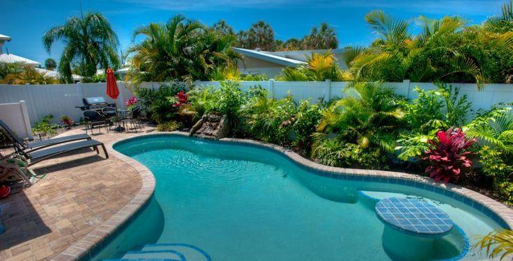 Holmes Beach Vacation Rental - VRBO 511506 - 2 BR Anna Maria Island Villa in FL, Peach Bellini: Adorable, Eye-Popping Renovated Villa,Heated Pool, Close to Beach