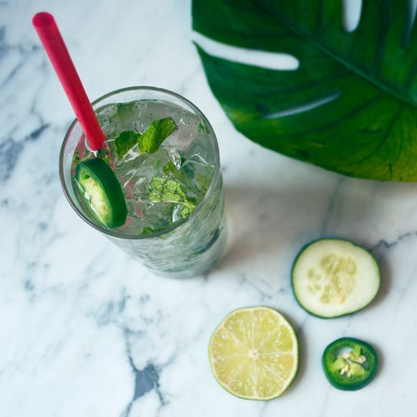 Green Garden Margarita - Calories: 100 per serving