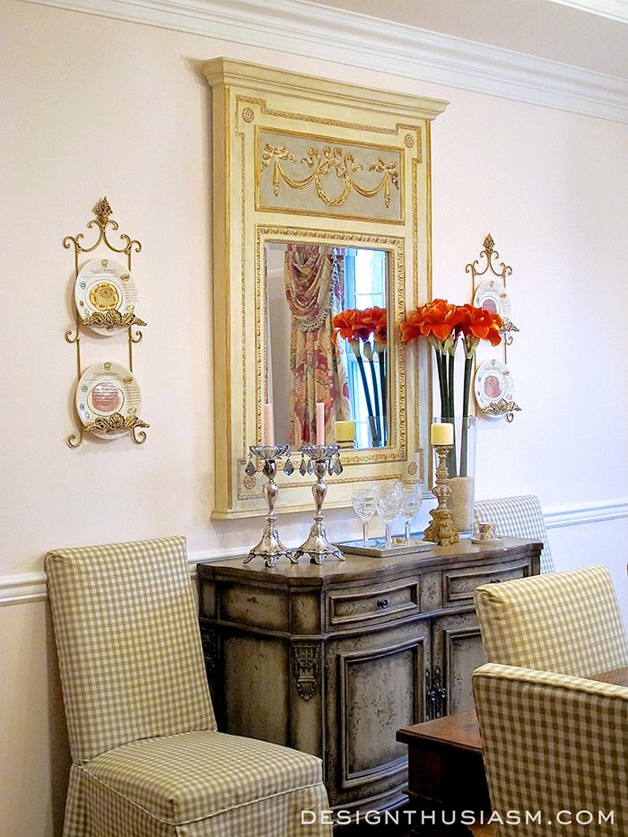 First room reveal a rosy dining room country dining for Southern dining room