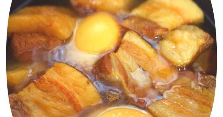 トロトロの角煮が圧力鍋要らずで簡単にできます♪♪