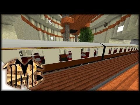 Immersive Railroading In Time | Modpack | Minecraft Time 95