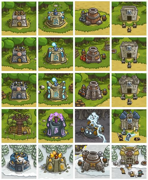 kingdom rush - iron hide game studio
