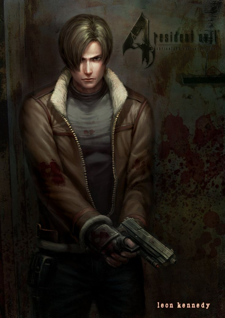 Leon S. Kennedy. the main protagonist of Resident Evil 4. Now that I am playing this game i have a deeper respect for him.