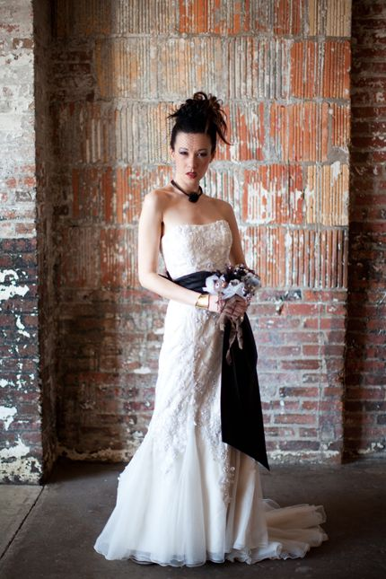 steampunk wedding bride inspiration hair makeup (12)