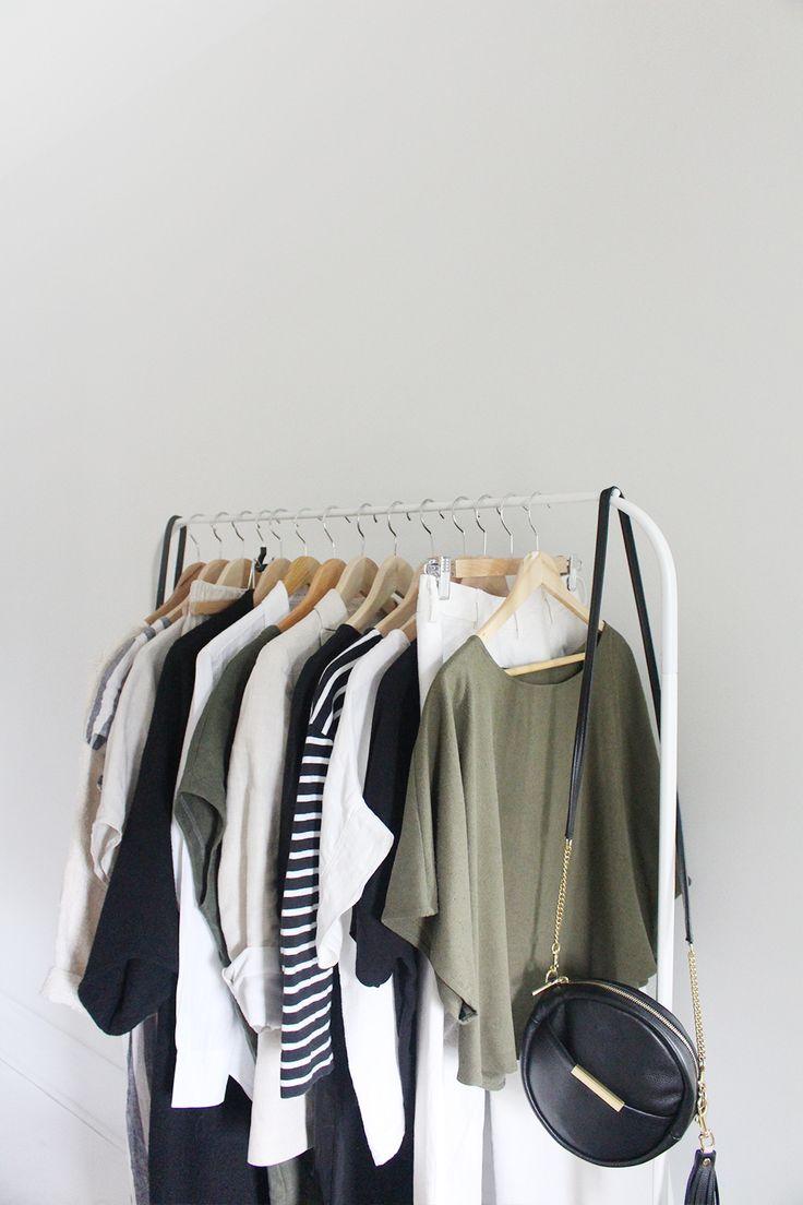 25 great ideas about minimalist closet on pinterest minimalist wardrobe staple wardrobe - Wardrobe for small spaces minimalist ...