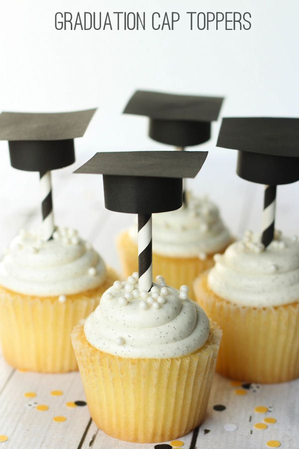 If we wanted to do cupcakes I'm sure we can make these toppers easily!