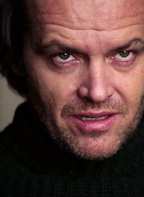 masticaamapolas:    Jack Nicholson in The Shining (1980)