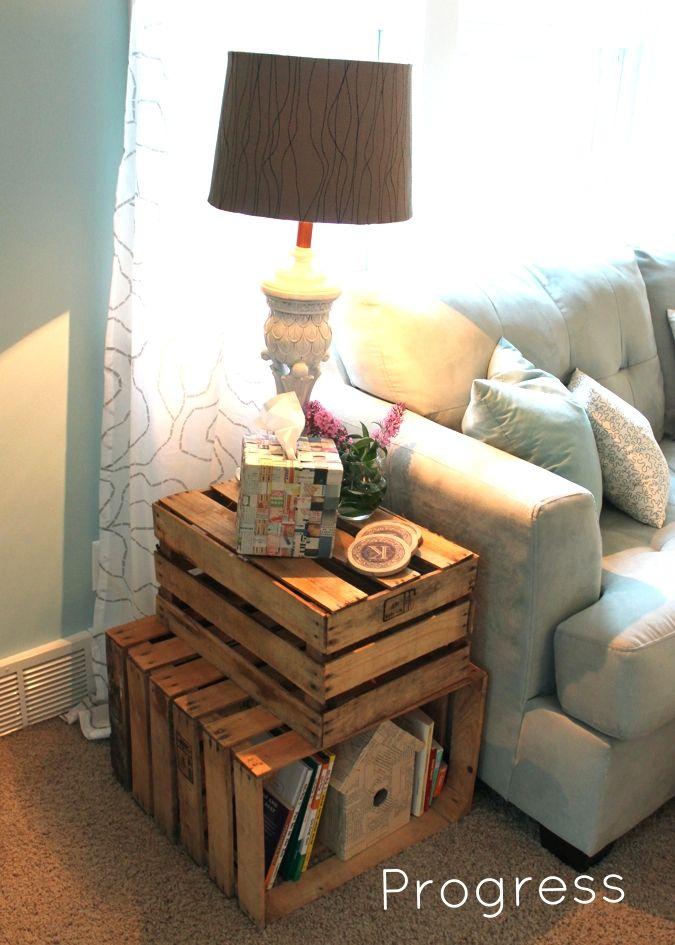 When Regarding Ruffles: Living Room Progress: Calm, Relaxing, Light Blue too!