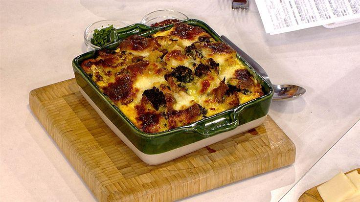 Charred Broccoli, Mushroom and Egg Strata - TODAY.com