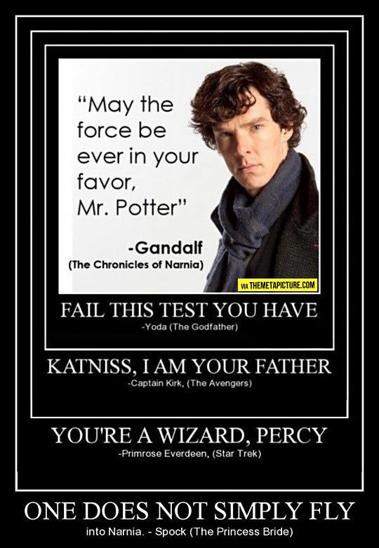 How to infuriate nerds from every fandom all at once...
