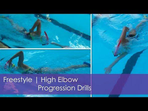 Freestyle | High Elbow Progression Drills - YouTube