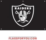 Raiders Fan Banner 2ft x 3ft