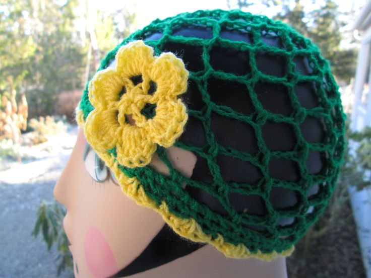 3 Months to 3 years Baby Girl Cloche Hat Crocheted by SuzannesStitches, Oregon Duck Baby Girl Hat, Green Clouche Hat, Flowered Cloche Hat by SuzannesStitches on Etsy